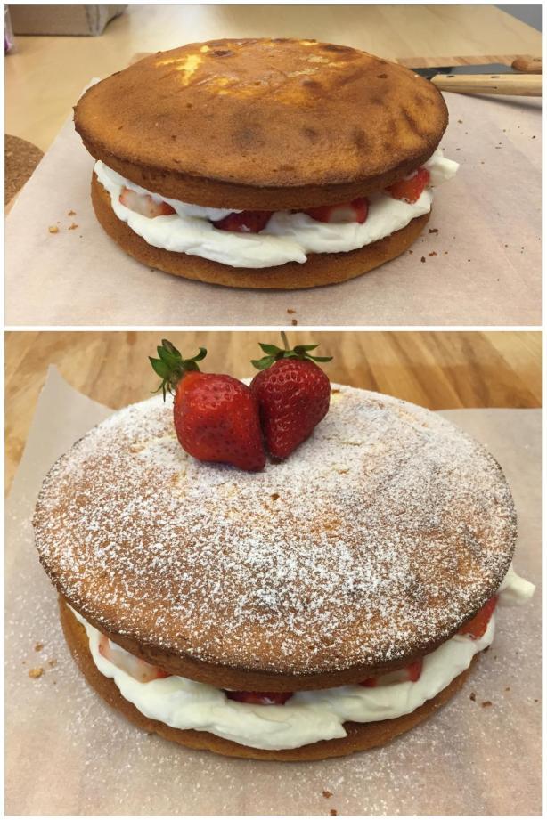 victoria sponge cake 9
